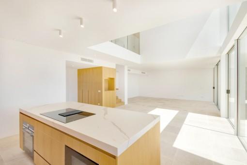 Wundervoller Wohnbereich im modernen Design