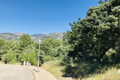 Grundstück mit schöner Aussicht in Bunyola