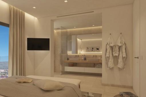 Schlafzimmer en Suite