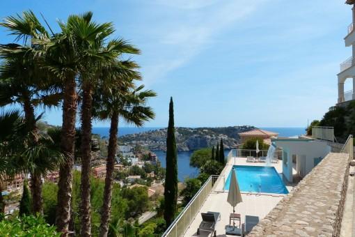 Wunderschöne Meerblick-Wohnung in Port d´Andratx