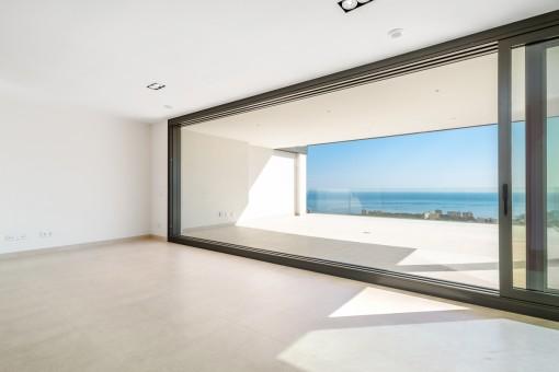 Große Panoramafenster