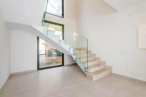 Nobler Treppenaufgang