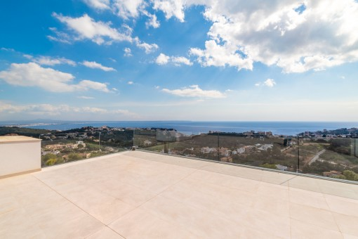 Beeindruckender Panorama-Meerblick