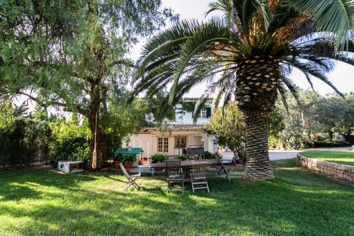 Finca im Ibiza Style mit idealer Anbindung zwischen Inca und Selva
