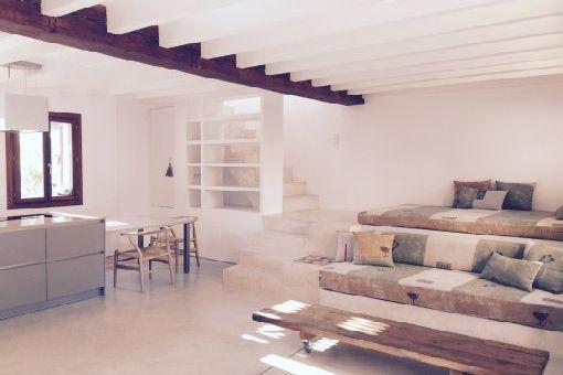 Modernes Loft mit Dachterrasse in Palmas Altstadt