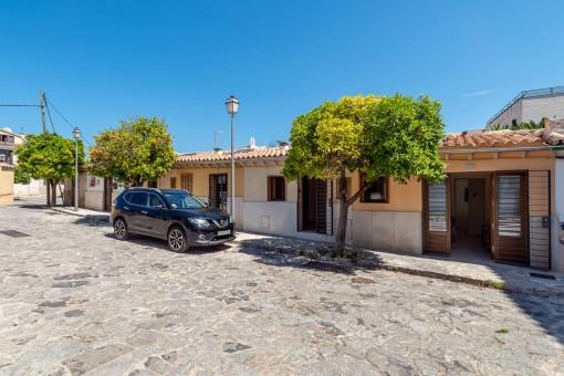 Renovierte Erdgeschosswohnung im Mühlenviertel von Santa Catalina in der Stadtoase Palma