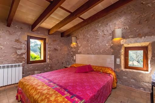 Gemütliches Doppelschlafzimmer