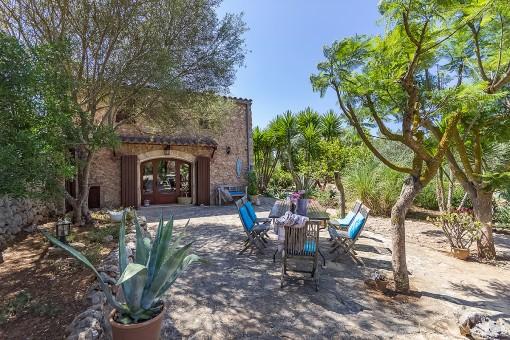 Zweites Gästehaus mit Garten