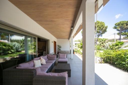 Terrasse mit Sitzbereich