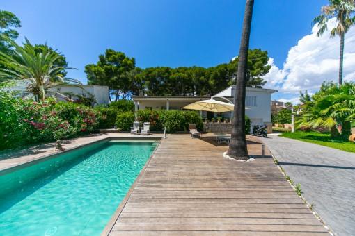 Komfortables Einfamilienhaus mit Pool an der Playa de Palma nur 200 Meter vom Meer entfernt