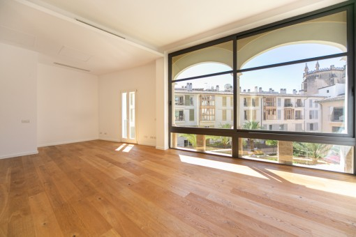 Design-Apartment mit Aufzug, Gemeinschaftspool und Tiefgargenstellplatz in Palma