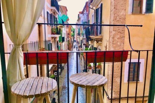 Schönes Altstadt-Apartment mit Gaszentralheizung und Klimaanlage in Palma