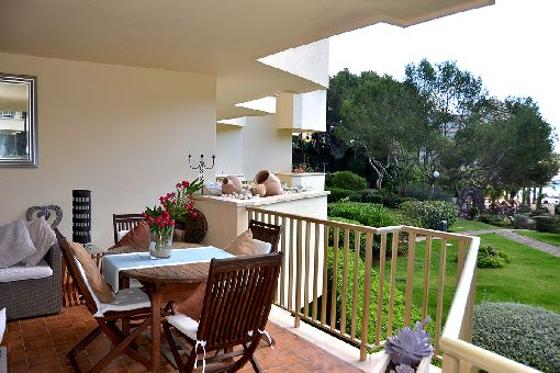 Tolle Wohnung direkt am Strand von Cala Vinyes