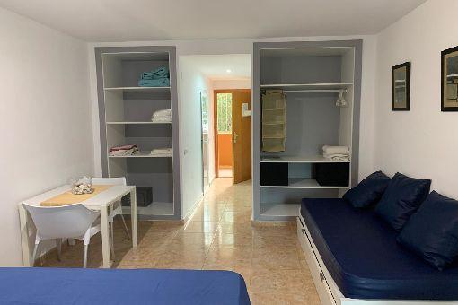 Strandnahe Appartments mit Gemeinschaftspool in Palmanova