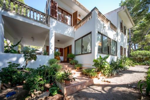 Charmantes Einfamilienhaus in unmittelbarer Meeresnähe in Cala Ratjada