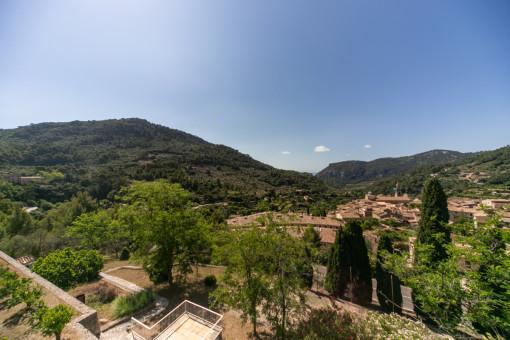 Beeindruckender Blick auf Valldemossa
