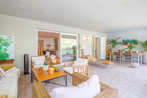 Großzügige und strandnahe Wohnung mit wunderschöner großer Terrasse in Cuidad Jardín