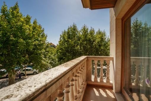 Balkon des Wohnbereiches