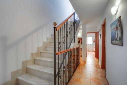 Treppe und Flur