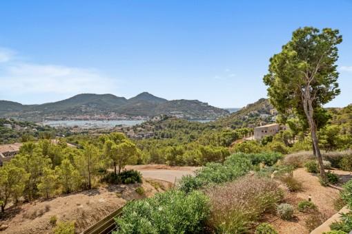 Traumhafter Blick auf Port Andratx