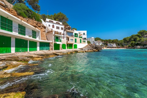 Einladende Bucht Cala Santanyí