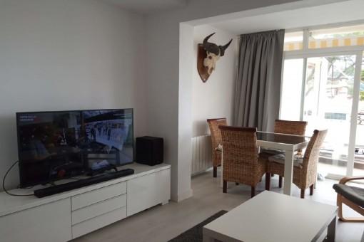 Tolle, helle Wohnung in Santa Ponsa nahe des Strandes gelegen