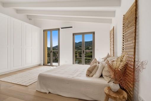 Elegantes Doppelschlafzimmer