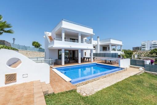 Schöne Villa mit Ferienvermietlizenz beim Hafen von Cala d'Or