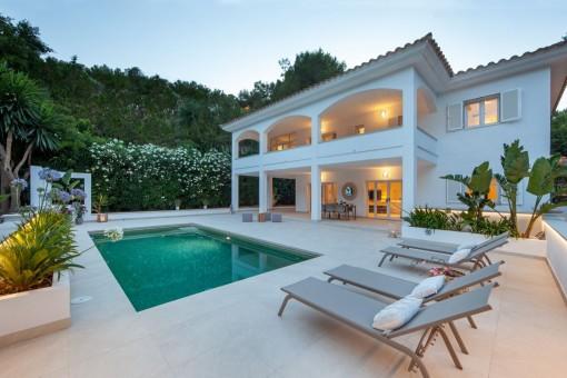 Wunderschöne, moderne Villa mit Pool in Camp de Mar