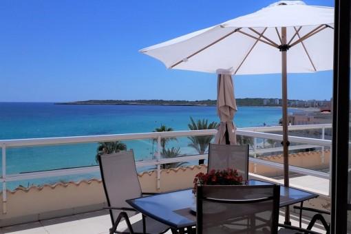 Wunderschöne Penthauswohnung direkt am Strand von Cala Millor