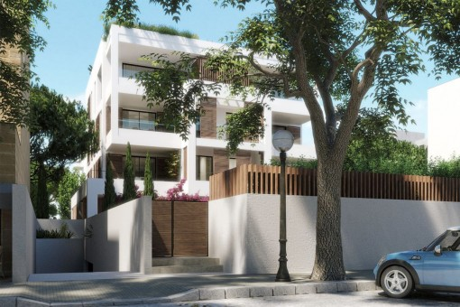 Fantastisches 3 SZ Apartment mit Terrasse in einer Neubau Anlage in Son Armadams