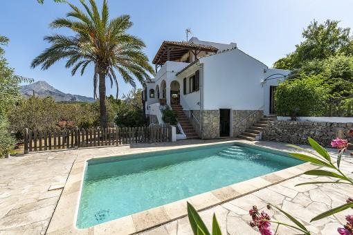 Wunderschönes Haus mit Pool in Es Capdella
