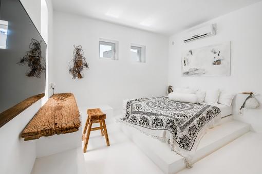 Schön eingerichtete Doppelschlafzimmer