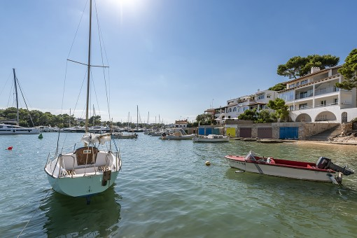 Der Hafen von Cala d'Or