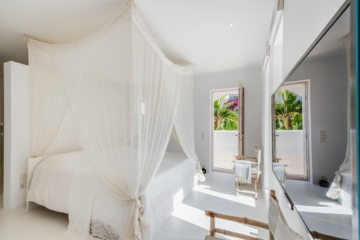 Hauptschlafzimmer mit eigner Terrasse