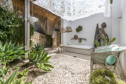 Terrasse mit absoluter Privatsphäre