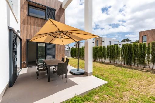 Moderne Villa in stilvoller Wohnanlage in Cala Murada
