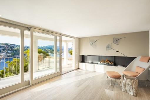 Spa und Entspannungsbereich mit Terrasse