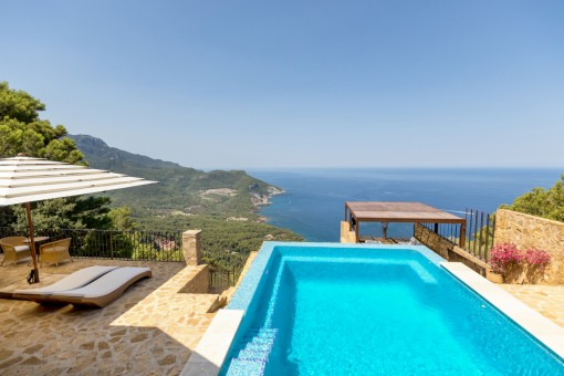 Spektakuläre Luxusvilla auf den Klippen in George Sand, Valldemossa