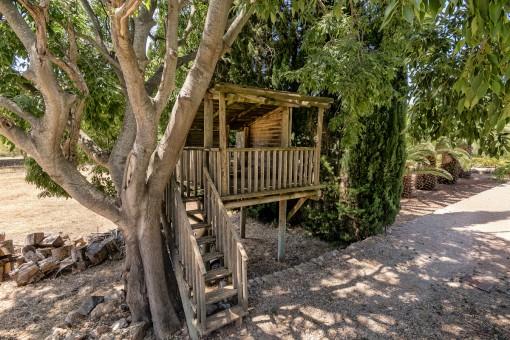 Kinderbaumhaus im Garten