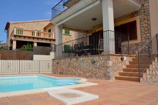 Wunderschönes Stadthaus mit Pool in Valldemossa