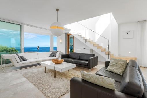 Stylischer Wohnbereich