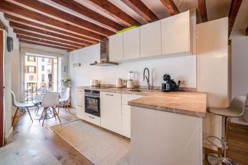 Helle, charmante Wohnung mit Top-Lage im Herzen La Lonjas in der Altstadt von Palma