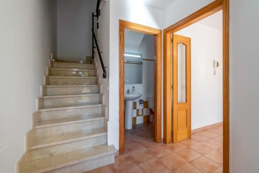 Gäste WC und Eingangsbereich