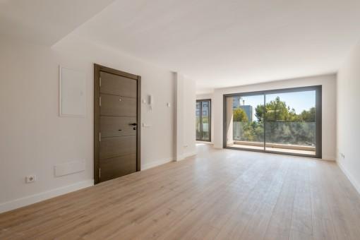 Neubau-Wohnung mit privater Terrasse in Son Espanyolet