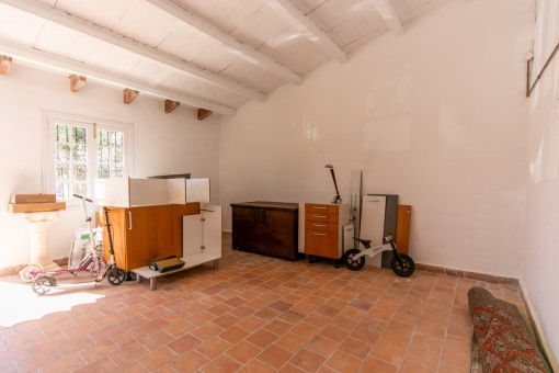 Geräumige Garage