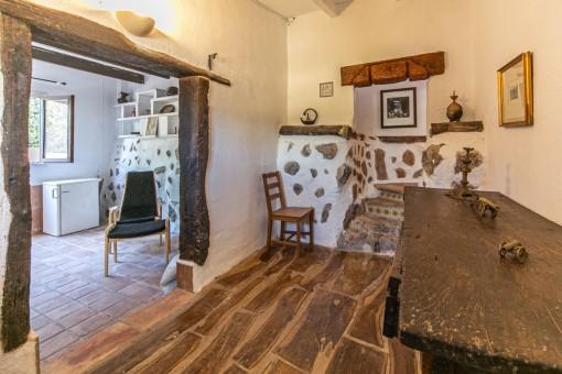 Sehr ursprüngliches Gästehaus