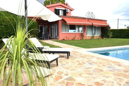 Wunderschönes Landhaus mit Pool in Son Gual