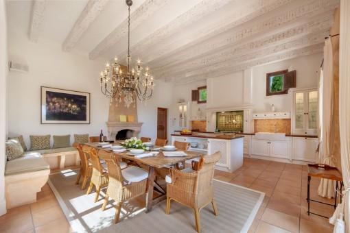 Moderne, authentische Küche