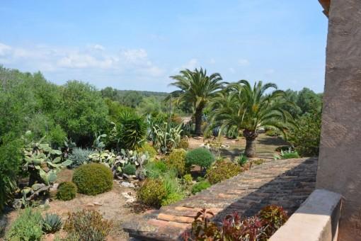 Apartment mit wunderschönem Garten in Santanyí